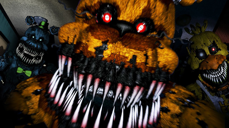 Five Nights at Freddy's 4 Review - The 4th Installment to the Kiddy Mascot Horror Game