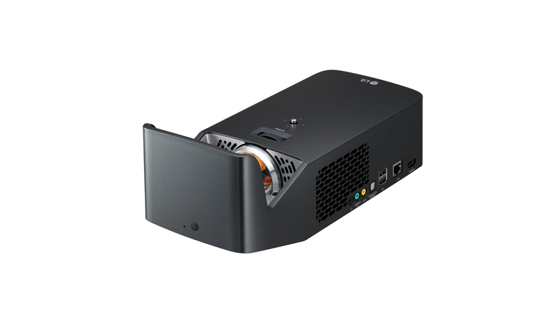 LG Minibeam Projector PF1000U - Eliminating the Need for Long Cables
