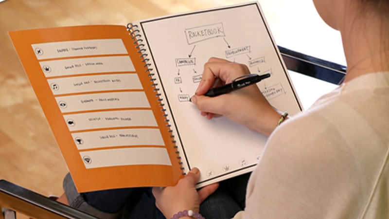Rocketbook Wave - Your Microwavable Notebook