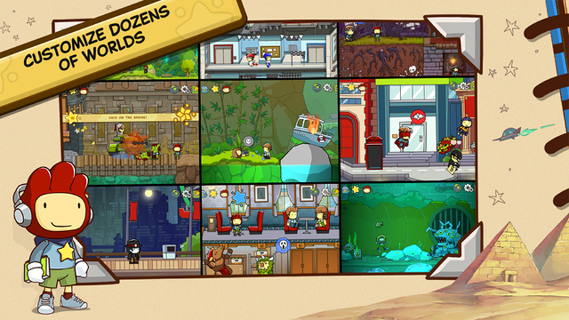 Scribblenauts Unlimited Review - Now Available on iOS and Android