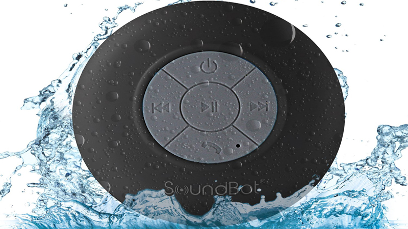 SoundBot SB510 HD Bluetooth Speaker Review - Add Music to Shower Time