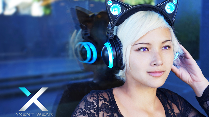 Brookstone Axent Wear Cat Ear Headphones Review - A Fun Way to Listen to Music