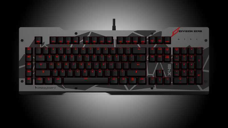 Division Zero X40 Pro Gaming Mechanical Keyboard Review - Looks and Feel Don't Come Cheap