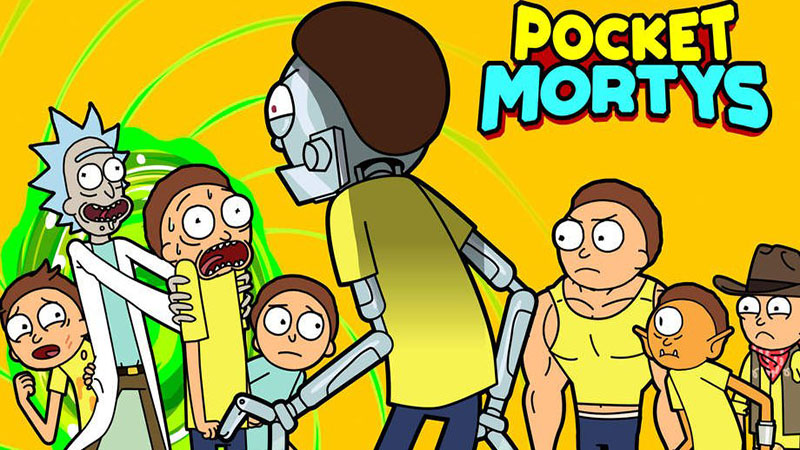 Pocket Mortys Review – Collect All the Mortys
