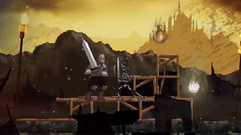 Slashy Souls - A Dark Souls-Inspired Mobile Game