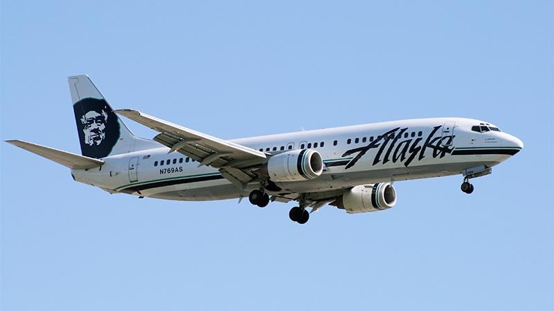 Alaska Airlines - iPhone Bursts Into Flames Mid-Flight
