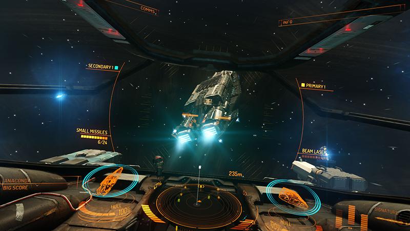 Elite: Dangerous - To Launch Alongside Oculus Rift Very Soon