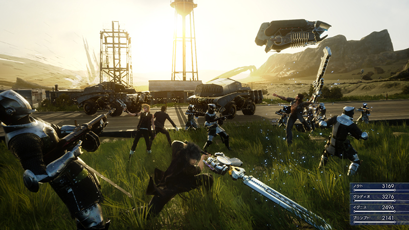 Final Fantasy XV - Main Story Could Take Around 50-Hours to Complete