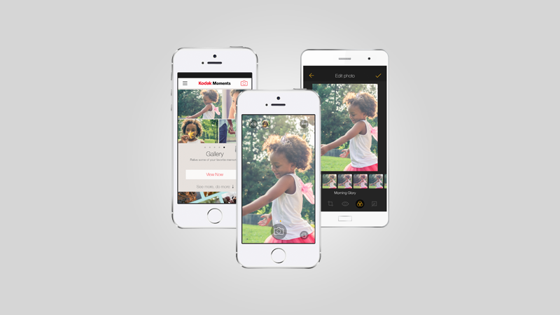 Kodak Moments App - Separating Precious Photo Memories