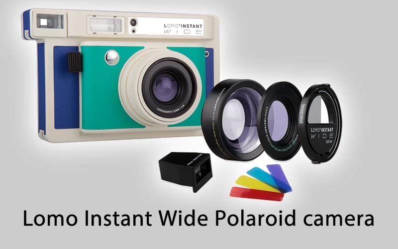 Lomo Instant Wide Polaroid camera Reviews