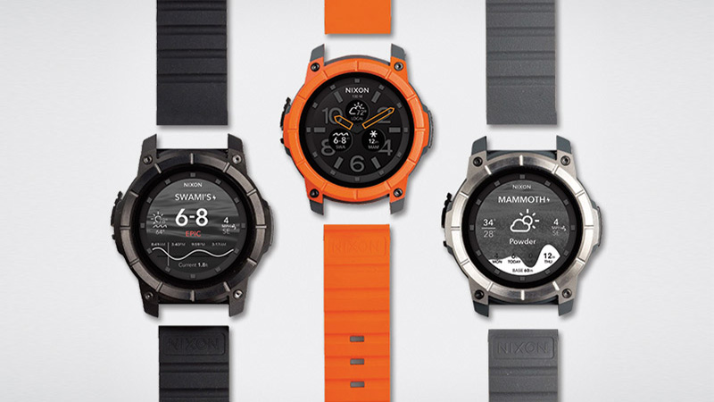 Nixon Mission - The Only Android Wear You Can Wear While Surfing