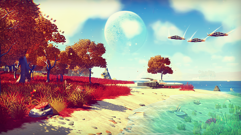 No Man's Sky - Players Will Try and Reach the Outer Rims of the Universe on June 22