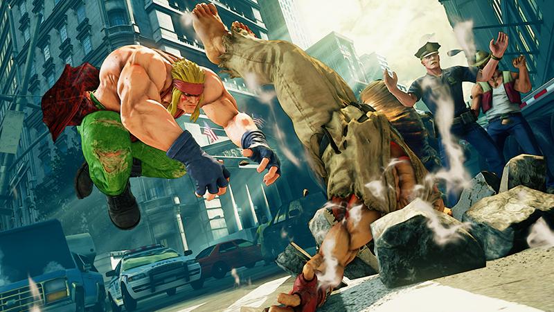 Street Fighter V - Enter Alex
