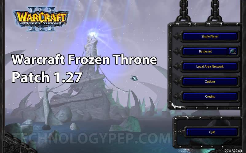 Warcraft Frozen Throne Patch 1.27 Download