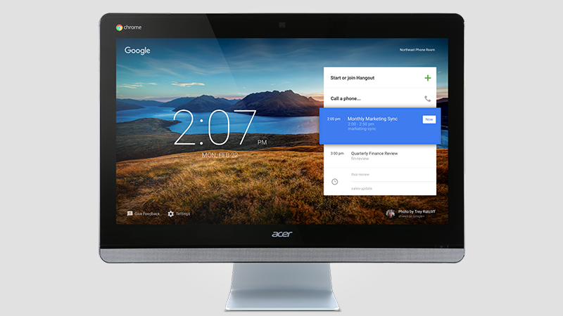Acer Chromebase - The All-in-One Video Conference System