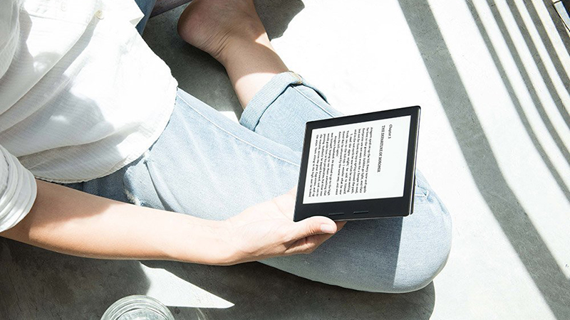 Amazon Kindle Oasis – A Surprising Top-End E-Reader