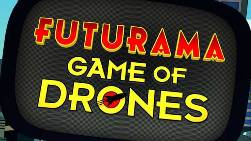 Futurama: Game of Drones – A Fun and Funny Puzzler