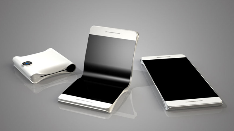 Samsung - May Actually be Creating a Folding Mobile Phone