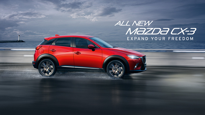 2016 Mazda CX-3 Review - Get the Crossover Treatment With Additional Perks