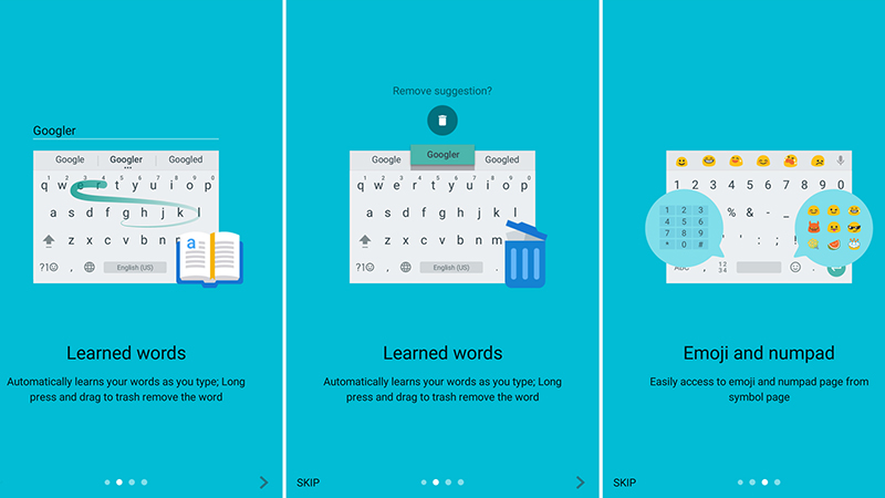 Android Keyboard - Google Stock Keyboard Launches Version 5.0