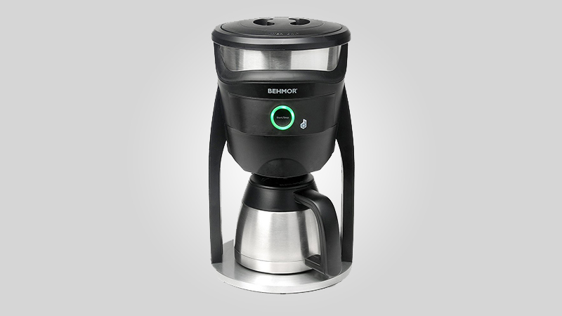 Behmor brewer connected coffee maker review produces an Coffee maker reviews 2016
