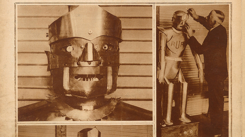 Eric the Robot - Museum Wants to Recreate One of the First Humanoid Machines