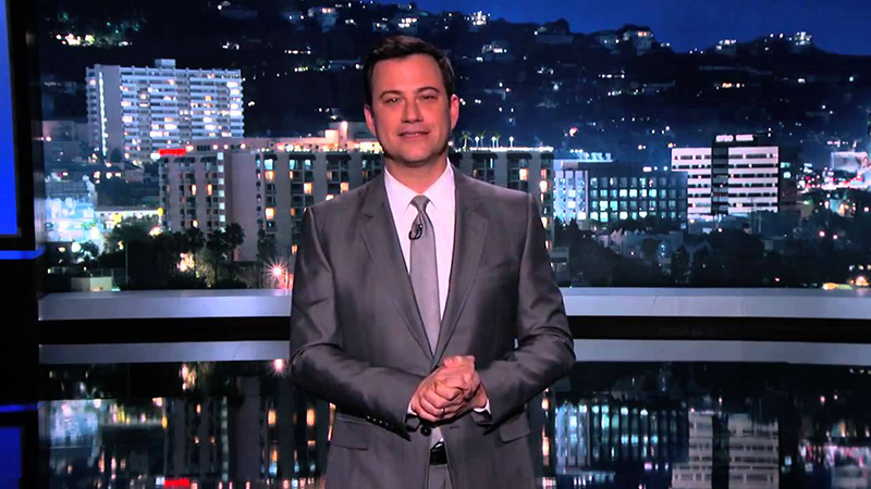 Jimmy Kimmel - Ridicules Sarah Palin Over the Topic of Climate Change