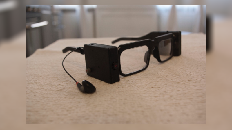 Parsee - 3D Printed Smart Glasses Assist Blind to Take a Better Look