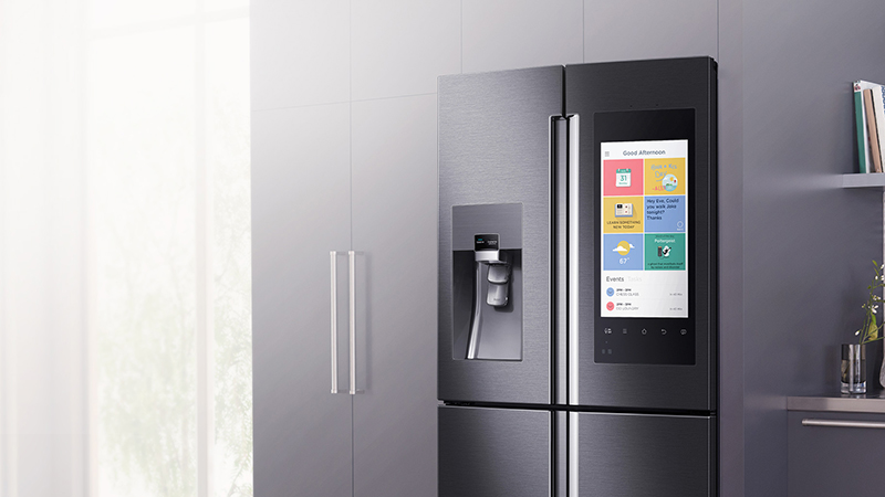 Samsung Family Hub - The New Smart Refrigerator That's Sure to Make Your Wallet Cry