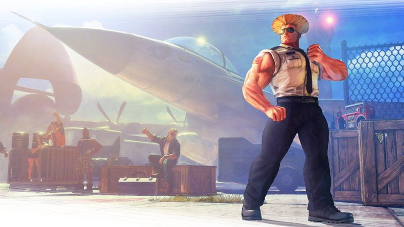 Street Fighter V - April Update Brings in Guile and Other New Content