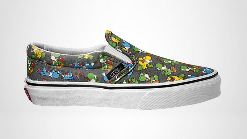 Vans - Introducing Nintendo-Themed Footwear