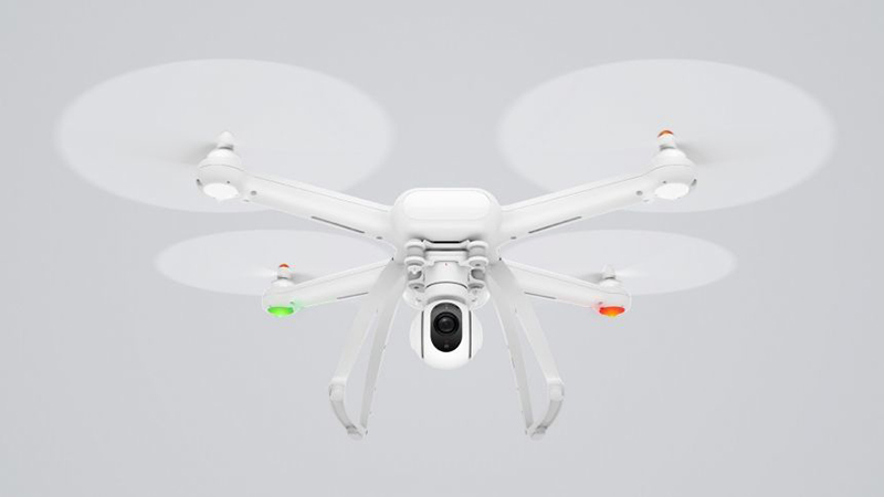 Xiaomi Mi 4 Drone - Company's First Drone Launched. Delivers 4K Video Capturing.