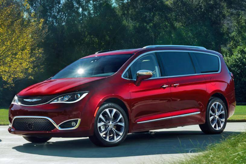 2017 Chrysler Pacifica With Convenience Features And