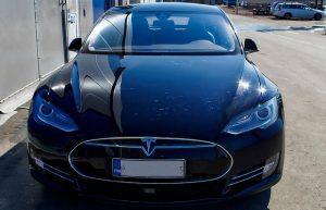 Model X Tesla car