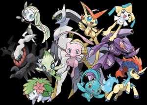 eleven-mythical-event-pokemon