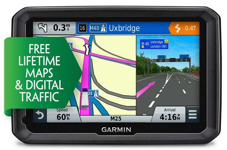 garmin dezl 570lmt gps navigator is ideal for truckers