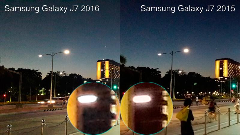 J7 2016 Vs J6 2015 Camera Result