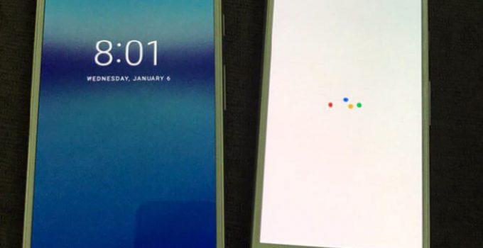 Google Pixel Front Facing Image Leak