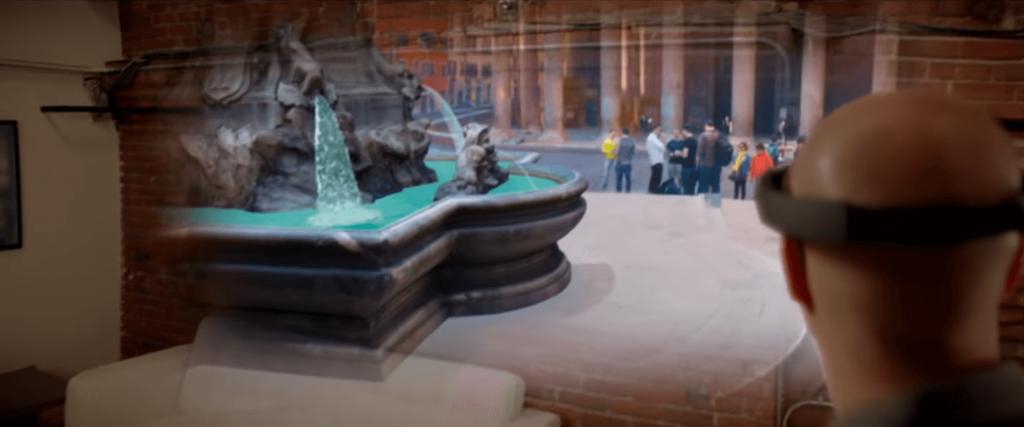 HoloLens Holotour App