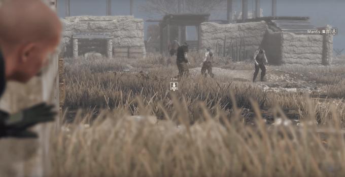 Metal Gear Survive Gameplay Footage
