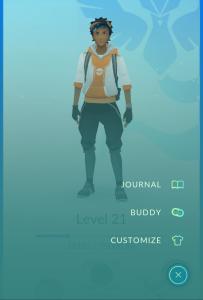 Pokemon Buddy Menu Found
