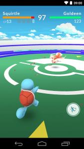 Pokemon Go Gym Battling