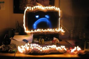 computer-on-fire