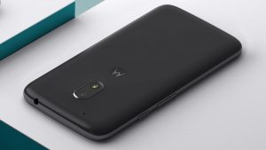 A View of the Moto G4 Play Back