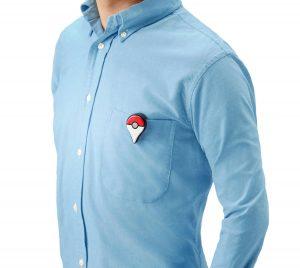 Pokemon Go Plus on a Shirt