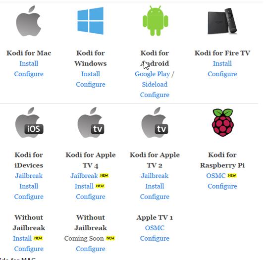 kodi-supported-platforms
