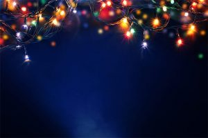 An image featuring Christmas lights concept