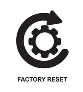 An image featuring factory reset concept