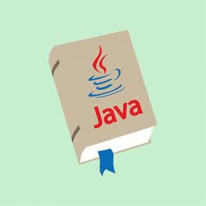 An image featuring a Java book